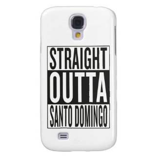straight outta Santo Domingo Samsung Galaxy S4 Covers