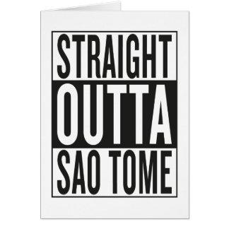 straight outta Sao Tome Card