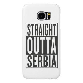 straight outta Serbia Samsung Galaxy S6 Cases