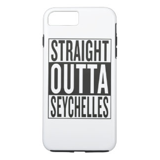 straight outta Seychelles iPhone 7 Plus Case