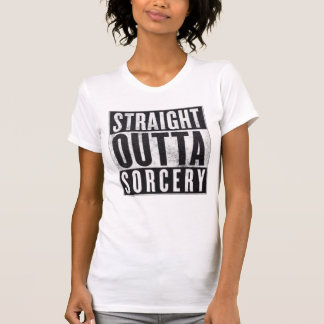 Straight Outta Sorcery Occult Graphic Tee
