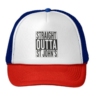 straight outta St John's Cap