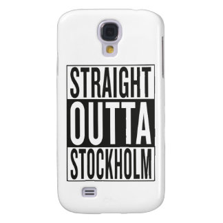 straight outta Stockholm Galaxy S4 Case