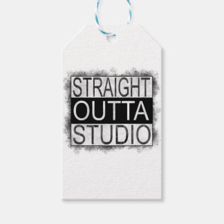 Straight outta STUDIO Gift Tags