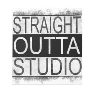 Straight outta STUDIO Notepad