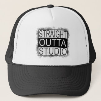 Straight outta STUDIO Trucker Hat