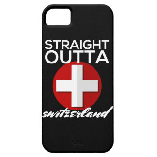 STRAIGHT OUTTA SWITZERLAND BARELY THERE iPhone 5 CASE
