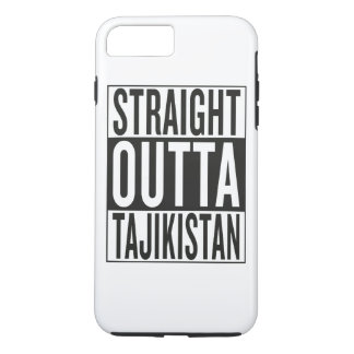 straight outta Tajikistan iPhone 7 Plus Case