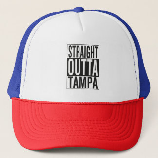straight outta Tampa Trucker Hat