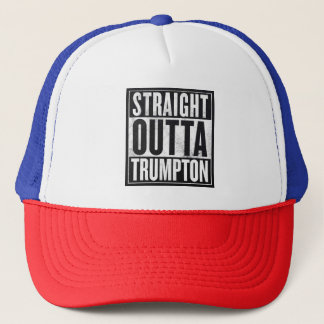 STRAIGHT OUTTA TRUMPTON TRUCKER HAT