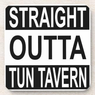 Straight Outta Tun Tavern Coaster