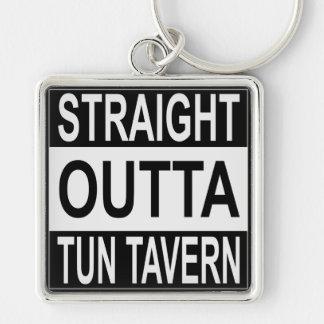 Straight Outta Tun Tavern Key Ring