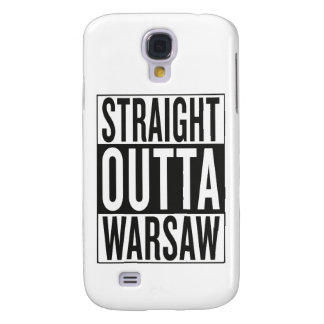 straight outta Warsaw Galaxy S4 Cases