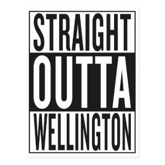 straight outta Wellington Postcard