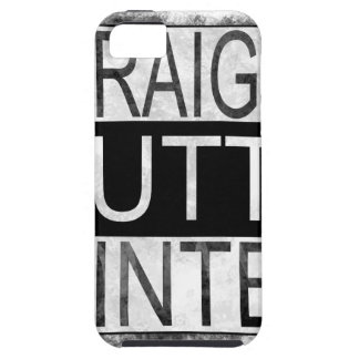 Straight outta WINTER iPhone 5 Cover