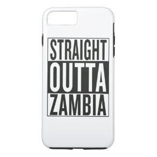straight outta Zambia iPhone 7 Plus Case