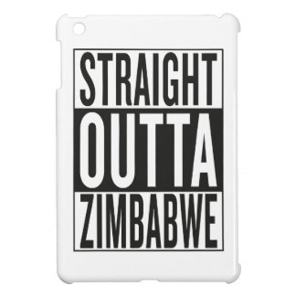 straight outta Zimbabwe iPad Mini Covers