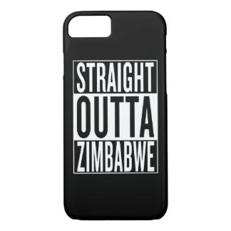 straight outta Zimbabwe iPhone 7 Case