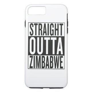 straight outta Zimbabwe iPhone 7 Plus Case