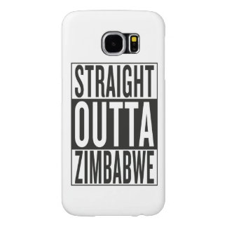 straight outta Zimbabwe Samsung Galaxy S6 Cases