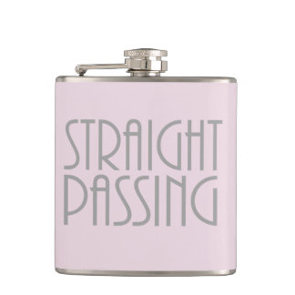 Straight Passing Hip Flask