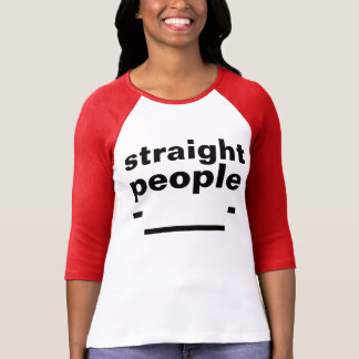straight people face T-Shirt