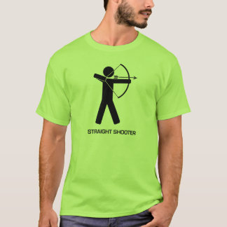 Straight Shooter (Black Archer) T T-Shirt