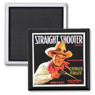 Straight Shooter Magnet
