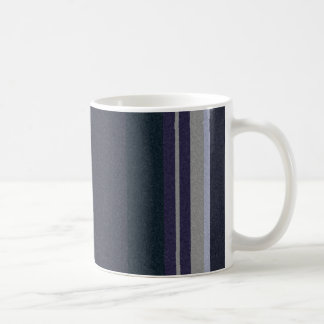 straight stripes design on a mug