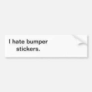 Straight to the point bumper sticker! bumper sticker