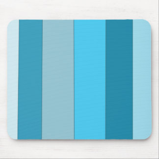 Straight Waves Mouse Pad