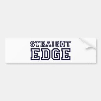 StraightEdge Bumper Sticker