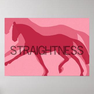 STRAIGHTNESS 19 x 13 Print