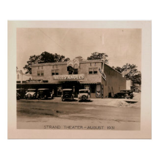 Strand Theater - Hell's Angels, Kilgore, TX 1931 Posters