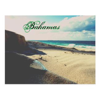 Stranded Bottle Beach Postcard