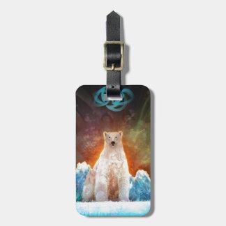 Stranded Polarbear Bag Tag
