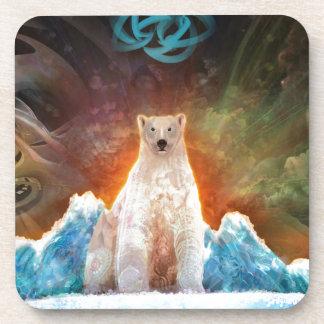 Stranded Polarbear Coaster