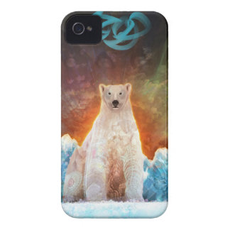 Stranded Polarbear iPhone 4 Covers