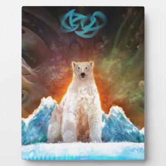 Stranded Polarbear Plaques