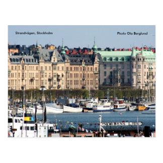 Strandvägen, Stockholm, Photo Ol... Postcard