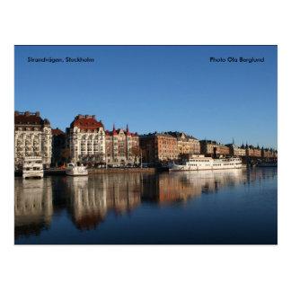 Strandvägen, Stockholm, Photo Ola ... Postcard
