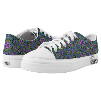 Strange Abstract modern Pattern Low Tops
