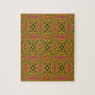 Strange abstract pattern jigsaw puzzle