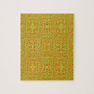 Strange abstract pattern puzzles