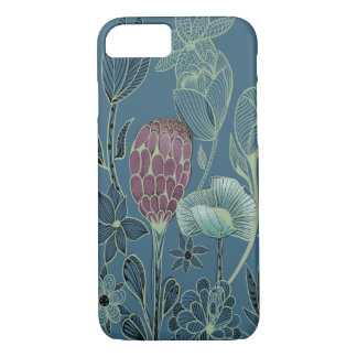 Strange and exotic garden flowers iPhone 8/7 case