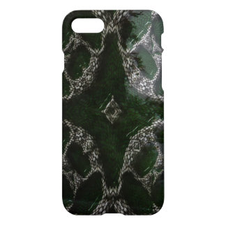 Strange different green white patterm iPhone 8/7 case