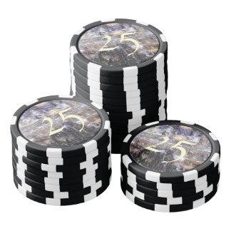 strange edited photo poker chips