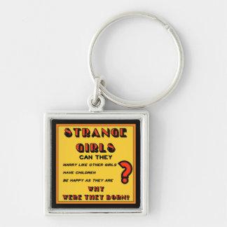 """""""Strange Girls"""" Keychain"""