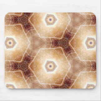 Strange hexagon shapes pattern mouse pad