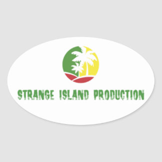 Strange Island Production Sticker